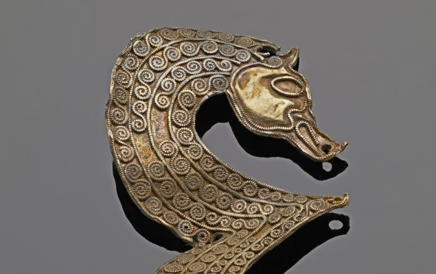 Staffordshire Hoard Seahorse